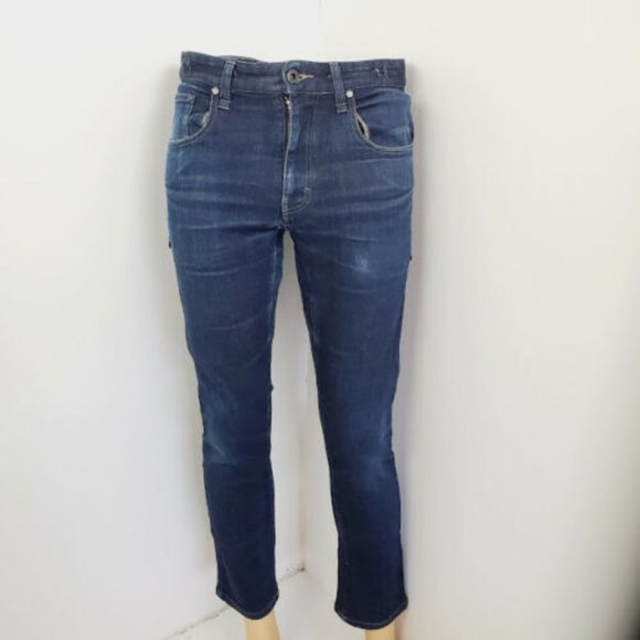 Nike SB Mens Blue High Rise Denim Jeans Size 30